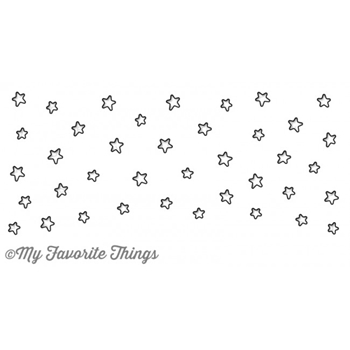 My Favorite Things STARS IN THE SKY HORIZONTAL Die-Namics MFT826