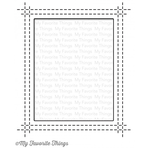 My Favorite Things RECTANGLE PEEK A BOO WINDOW Die-Namics MFT842 Preview Image