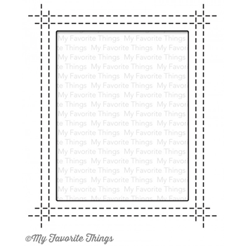 My Favorite Things RECTANGLE PEEK A BOO WINDOW Die-Namics MFT842