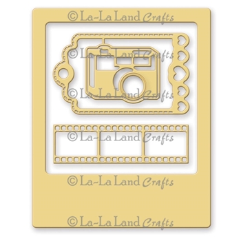 La-La Land Crafts PHOTO ELEMENTS Die Set 8155