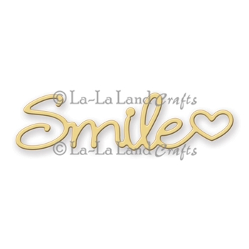 La-La Land Crafts SMILE Die Set 8157
