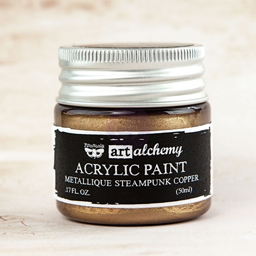 Prima Marketing METALLIQUE STEAMPUNK COPPER Art Alchemy Acrylic Paint 963064 Preview Image