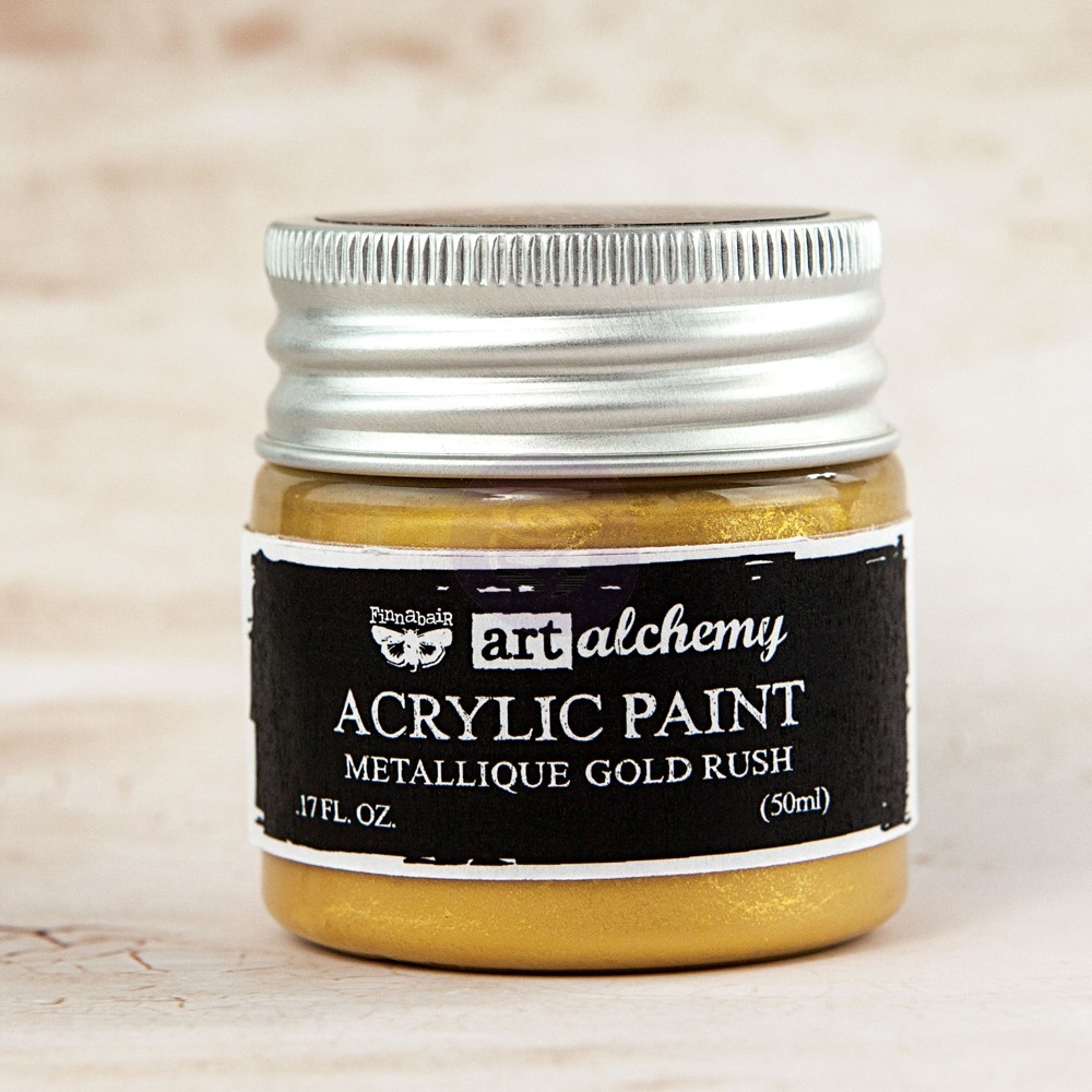 Prima Marketing METALLIQUE GOLD RUSH Art Alchemy Acrylic Paint 963071 zoom image