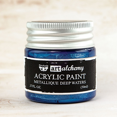 Prima Marketing METALLIQUE DEEP WATERS Art Alchemy Acrylic Paint 963118 Preview Image