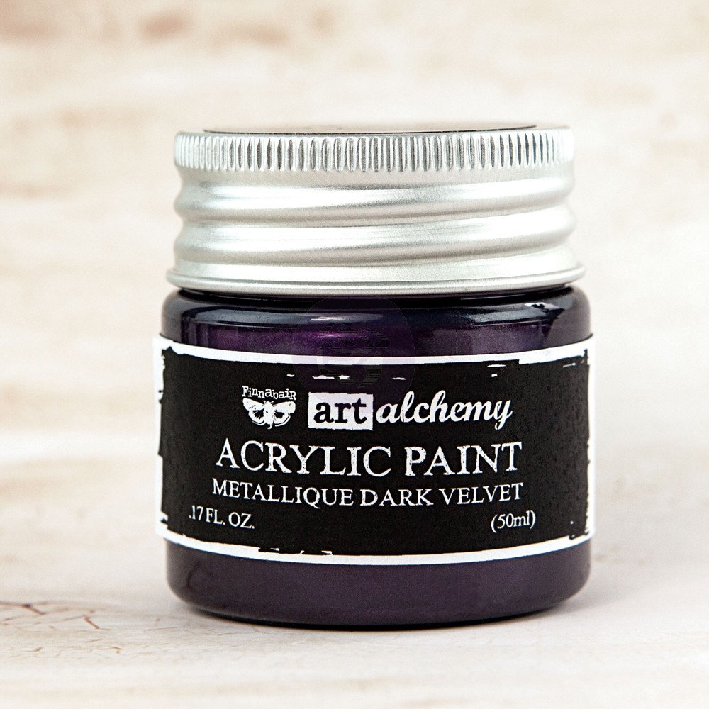 Prima Marketing METALLIQUE DARK VELVET Art Alchemy Acrylic Paint 963125 zoom image