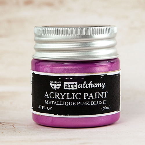 Prima Marketing METALLIQUE LIGHT PINK BLUSH Art Alchemy Acrylic Paint 963217 Preview Image