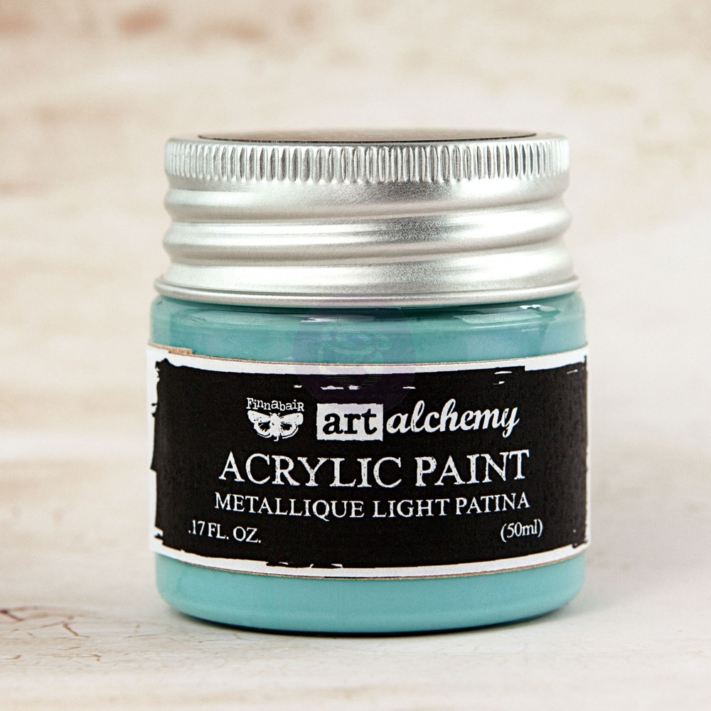 Prima Marketing METALLIQUE LIGHT PATINA Art Alchemy Acrylic Paint 963248 zoom image