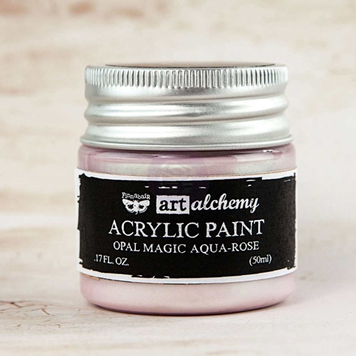 Prima Marketing OPAL MAGIC AQUA ROSE Art Alchemy Acrylic Paint 963613 Preview Image