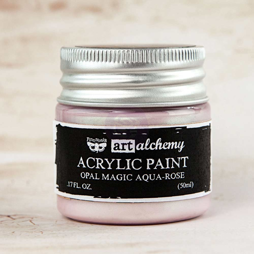 Prima Marketing OPAL MAGIC AQUA ROSE Art Alchemy Acrylic Paint 963613 zoom image