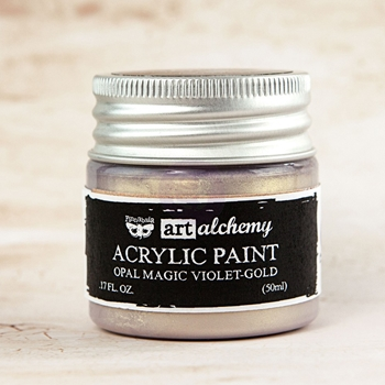 Prima Marketing OPAL MAGIC VIOLET GOLD Art Alchemy Acrylic Paint 963637