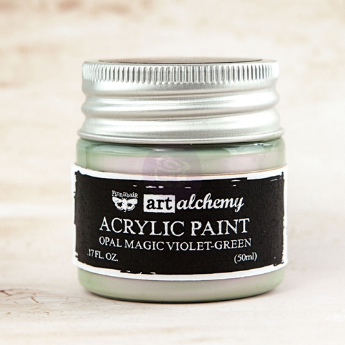 Prima Marketing OPAL MAGIC VIOLET GREEN Art Alchemy Acrylic Paint 963644 Preview Image