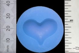 WOW Silicone Mold - HEART WZMOULD30