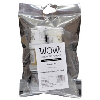 WOW Embossing Powder STARTER KIT WOWKITSTARTER