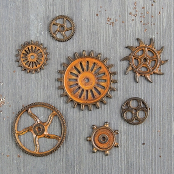 Prima Marketing RUSTIC GEARS Finnabair Mechanicals 963439