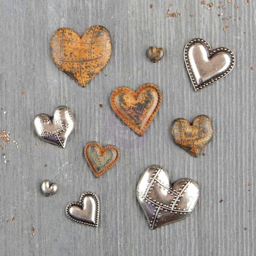 Prima Marketing TIN HEARTS Finnabair Mechanicals 963361 Preview Image