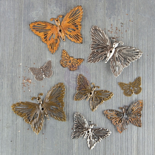 Prima Marketing GRUNGY BUTTERFLIES Finnabair Mechanicals 963408 Preview Image
