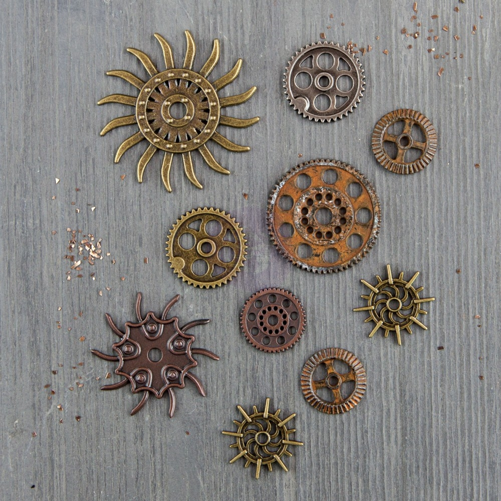 Prima Marketing STEAMPUNK GEARS Finnabair Mechanicals 963453 zoom image