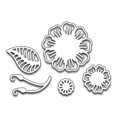 Penny Black LAYERED FLOWER Thin Metal Creative Dies 51-207 Preview Image