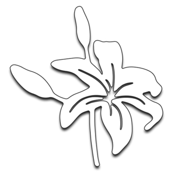 Penny Black TIGER LILY II Thin Metal Creative Dies 51-203