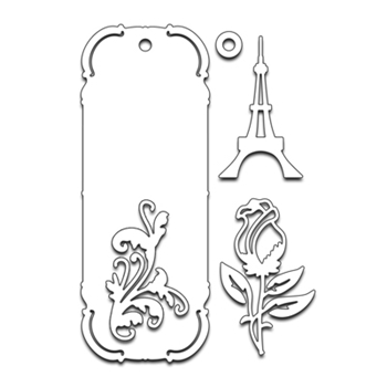 Penny Black BOOKMARK Thin Metal Creative Dies 51-195