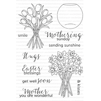 Clearly Besotted YOU ARE WONDERFUL Clear Stamp Set