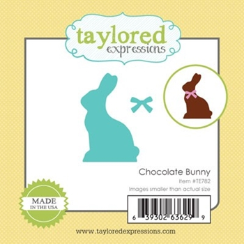 Taylored Expressions Little Bits CHOCOLATE BUNNY Die Set TE782