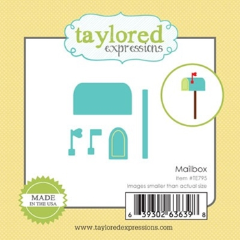 Taylored Expressions Little Bits MAILBOX Die Set TE795