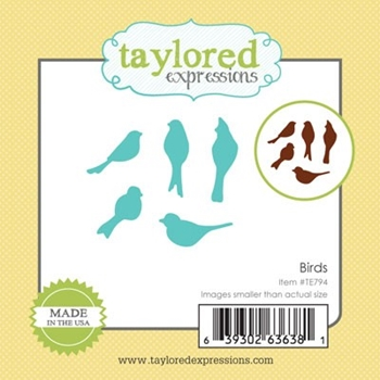 Taylored Expressions Little Bits BIRDS Die Set TE794