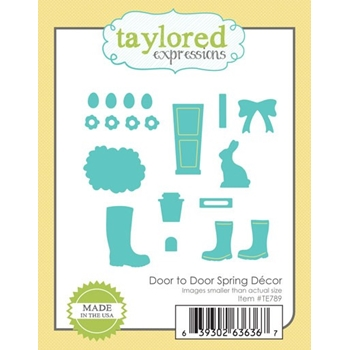 Taylored Expressions DOOR TO DOOR SPRING DECOR Die Set TE789
