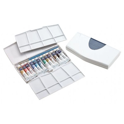 Winsor Newton COTMAN WATERCOLORS PLUS 12 Tube Set With Palette 0390377 Preview Image