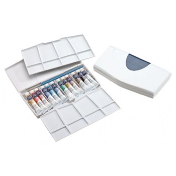 Winsor Newton COTMAN WATERCOLORS PLUS 12 Tube Set With Palette 0390377