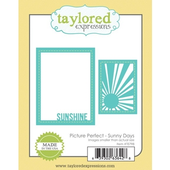 Taylored Expressions PICTURE PERFECT SUNNY DAYS Die Set TE798