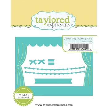 Taylored Expressions CENTER STAGE Cutting Plate Die Set TE784