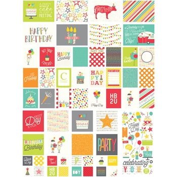 Simple Stories LET'S PARTY Snap Cards 5323