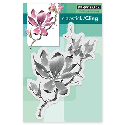 Penny Black THE UNFOLDING Cling Stamp Set 40-450 zoom image