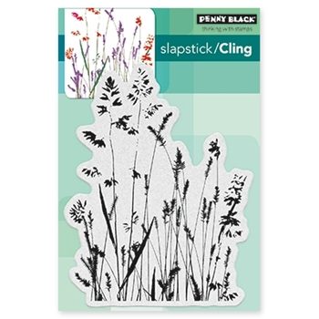 Penny Black NATURE'S PAINTBRUSHES Cling Stamp 40-441