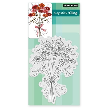 Penny Black JUBILANCE Cling Stamp Set 40-436