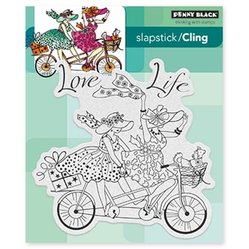 Penny Black LOVE LIFE Cling Stamp Set 40-434