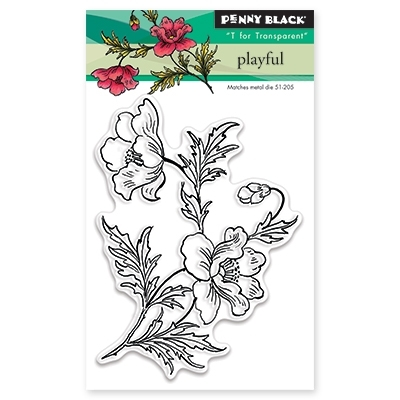 Penny Black PLAYFUL Clear Stamp Set 30-347 Preview Image