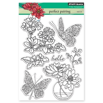Penny Black PERFECT PAIRING Clear Stamp Set 30-346