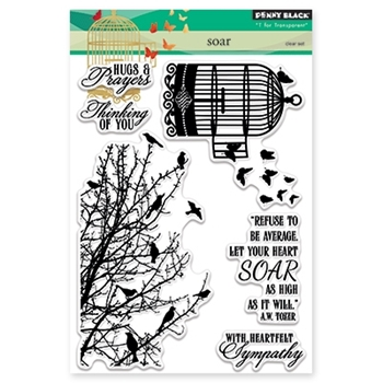 Penny Black SOAR Clear Stamp Set 30-345