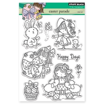 Penny Black EASTER PARADE Clear Stamp Set 30-334