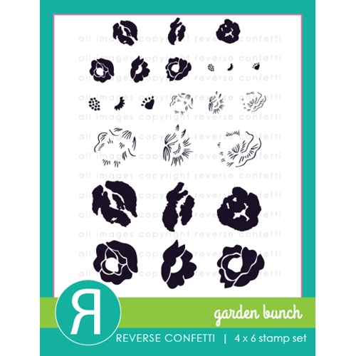 Reverse Confetti GARDEN BUNCH Clear Stamp Set  Preview Image