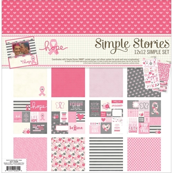 Simple Stories HOPE 12 x 12 Collection Kit 2048