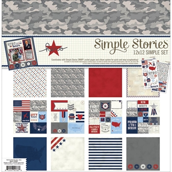 Simple Stories HERO 12 x 12 Collection Kit 2057