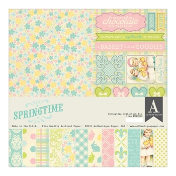 Authentique SPRINGTIME 12 x 12 Collection Kit EAS010