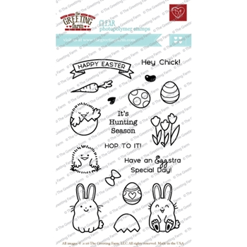 The Greeting Farm EGGSTRA SPECIAL Clear Stamps TGF223