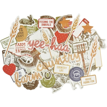 Kaisercraft OLD MAC COLLECTABLES Die Cut Shapes CT849