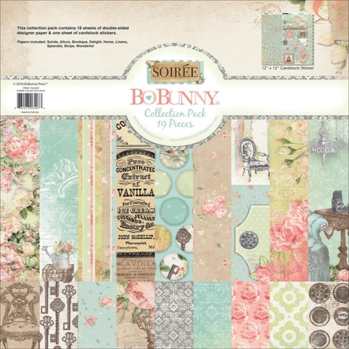 BoBunny 12 x 12 SOIREE Collection Pack 19616407 Preview Image