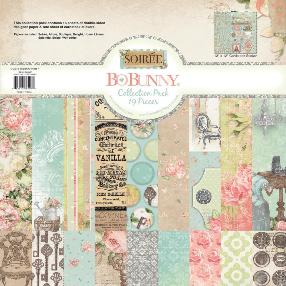 BoBunny 12 x 12 SOIREE Collection Pack 19616407 zoom image